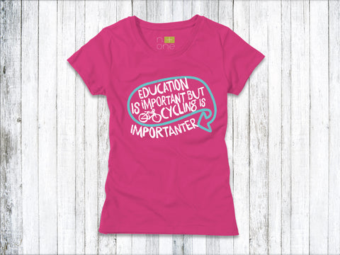 Education is Important Women's T-Shirt