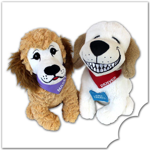 Denver the Guilty Dog & Masey - Plush Toy Set