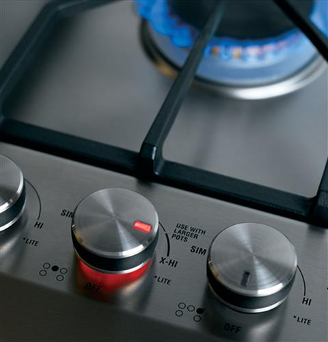 "MONOGRAM - 36"" GAS COOKTOP - ZGU385NSMSS"