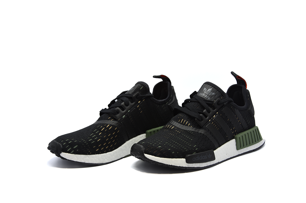 "Adidas NMD R1 ""Base Green/Bold Onix"" (Euro Foot Locker Exclusive)"