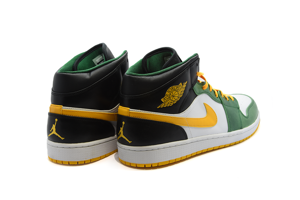 "Air Jordan 1 Retro Mid ""Sonics"""