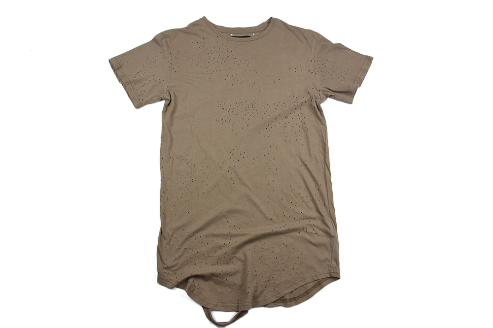 Civil Regime Blasted Thrashed Drop Tee