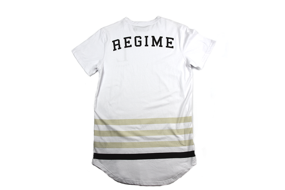 Civil Regime League Drop Tee White