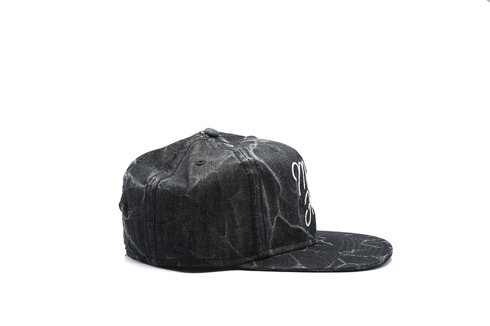 Mighty Healthy Black Mineral Snapback