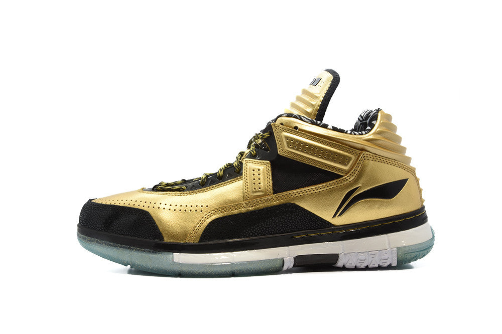 "Li-Ning x SoleFly Way of Wade Encore PE ""Gold Rush"""