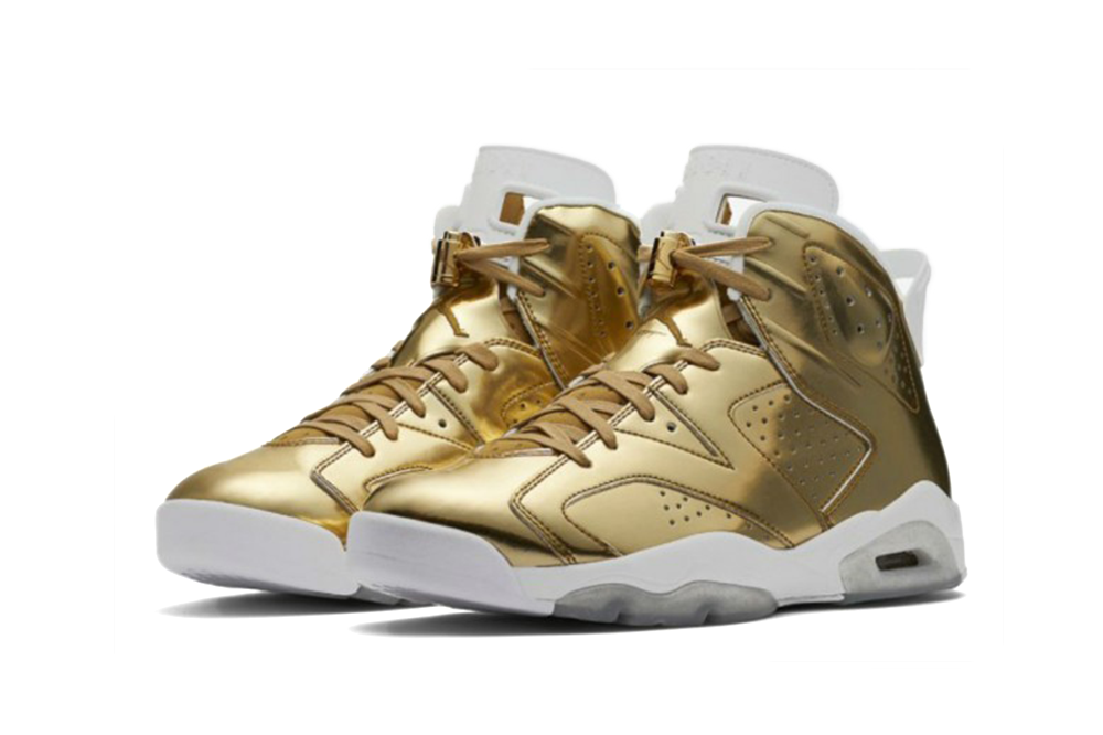 "Air Jordan 6 Pinnacle ""Metallic Gold"""