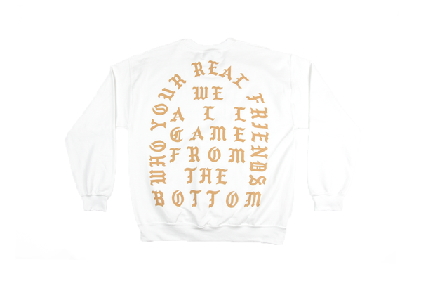 "Kanye West ""Who Your Real Friends"" Crewneck"