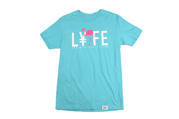 Lyfe Flamingo Tiffany Tee