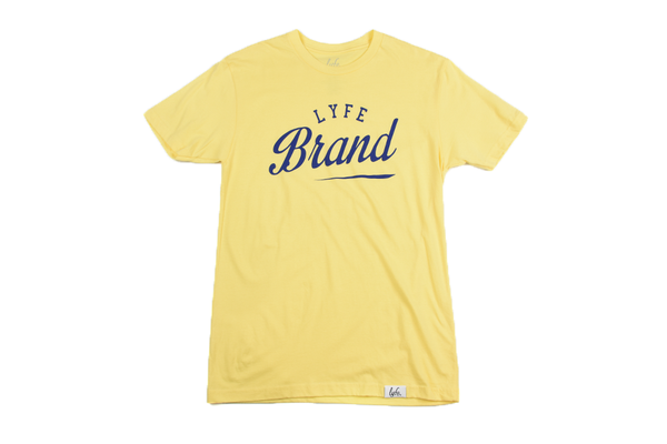 Lyfe Brand Yellow Tee