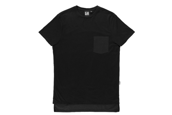 Massiv. Mind Pocket Tee Black