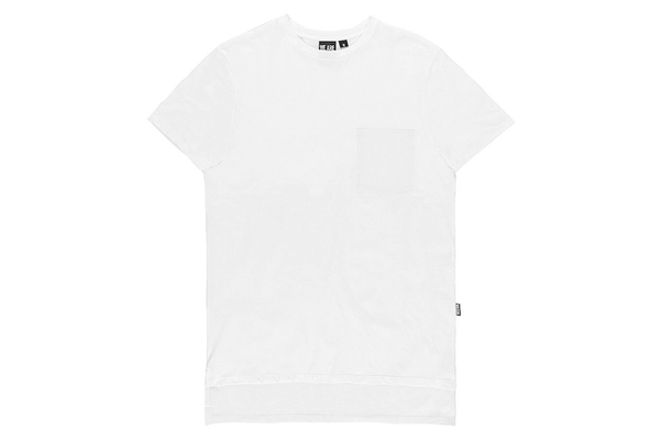 Massiv. Mind Pocket Tee White