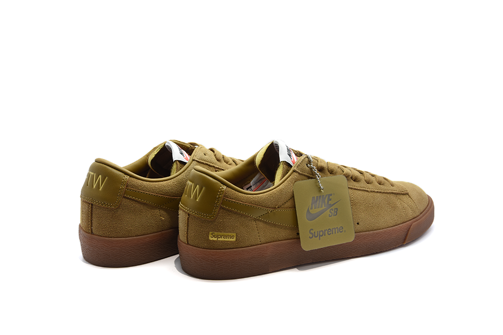 cheap for discount ea287 59a13 cheapest nike sb blazer low gt supreme golden beige 604b2 1287d