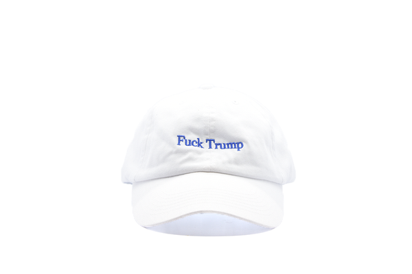 The High Rise Fuck Trump Dad Hat