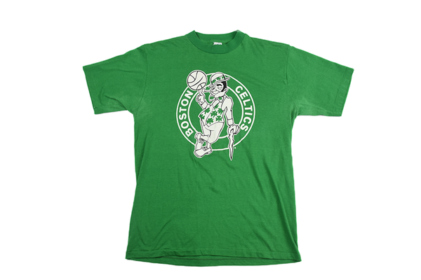 Boston Celtics Vintage Basketball Tee