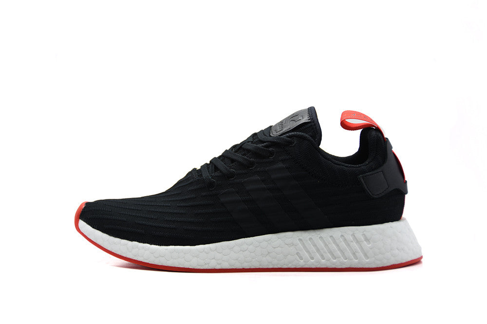 cheap for discount 408b2 a2e0a Adidas NMD R2 PK Two Toned ... NMD R2 CORE BLACK RED ...