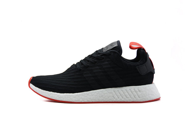 "Adidas NMD R2 PK Two Toned ""Core Black/Red"""