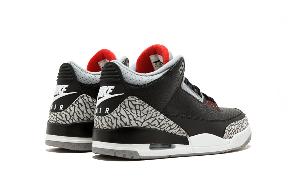"Air Jordan 3 Retro OG ""Black Cement"" (2018)"