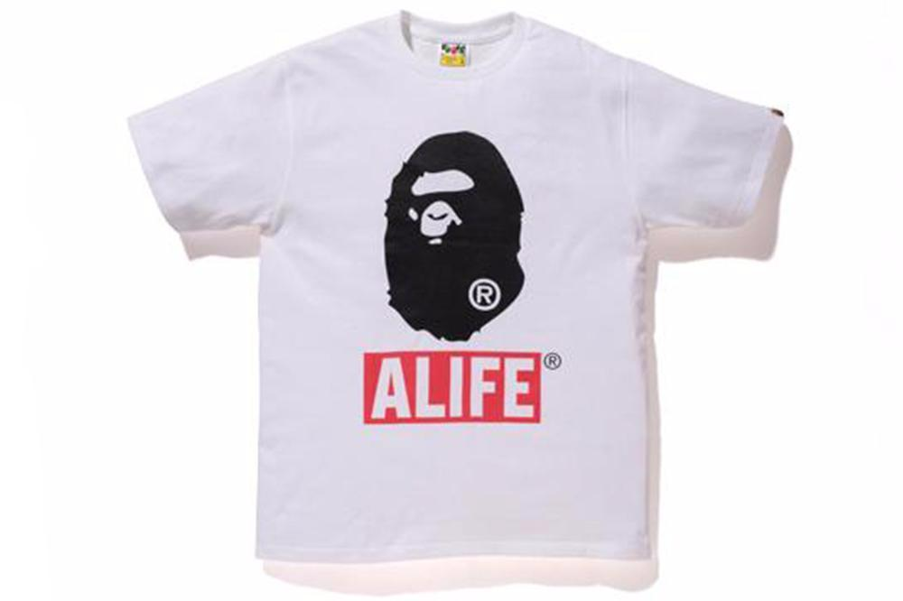 A Bathing Ape x ALIFE Bape Head Tee