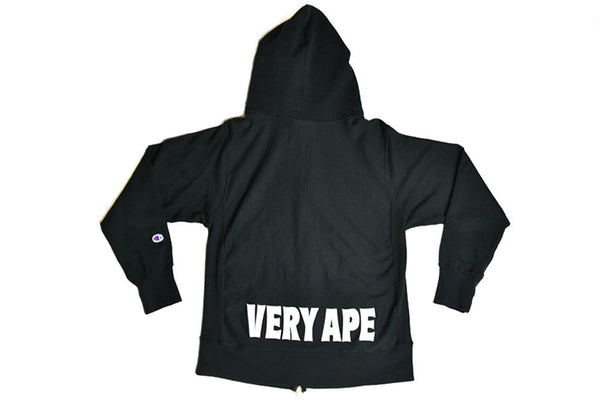 Bape x Champion Very Ape Zip Up Hoody