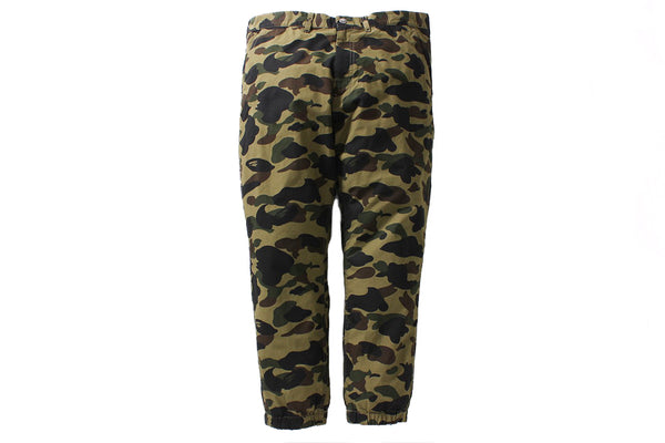 A Bathing Ape 1st Camo Cropped Jogger Pants