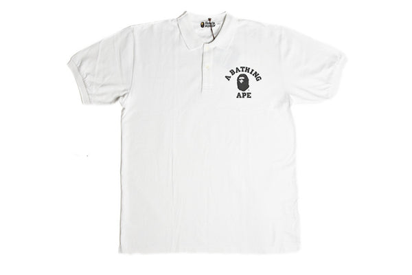 Bape College Logo Polo