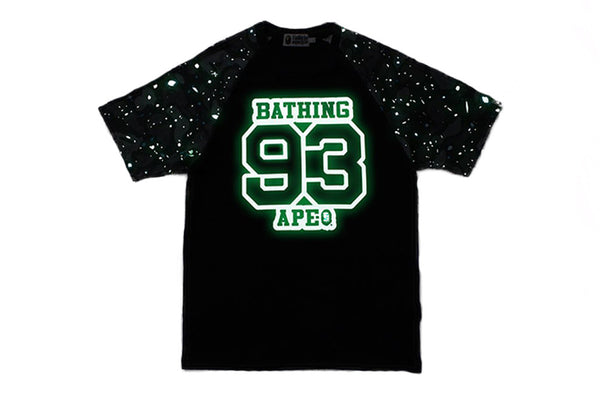 A Bathing Ape Space Camo Raglan Sleeve Tee