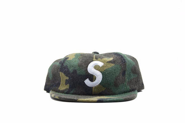 Supreme Wool S Logo 6-Panel