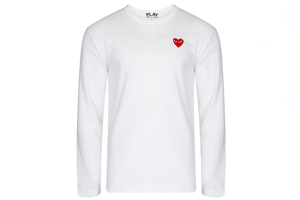 Comme Des Garcons PLAY Heart Long Sleeve