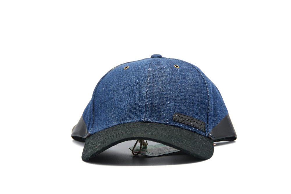 "Dungeon Forward Dipped Denim ""Cobalt"" Hat"