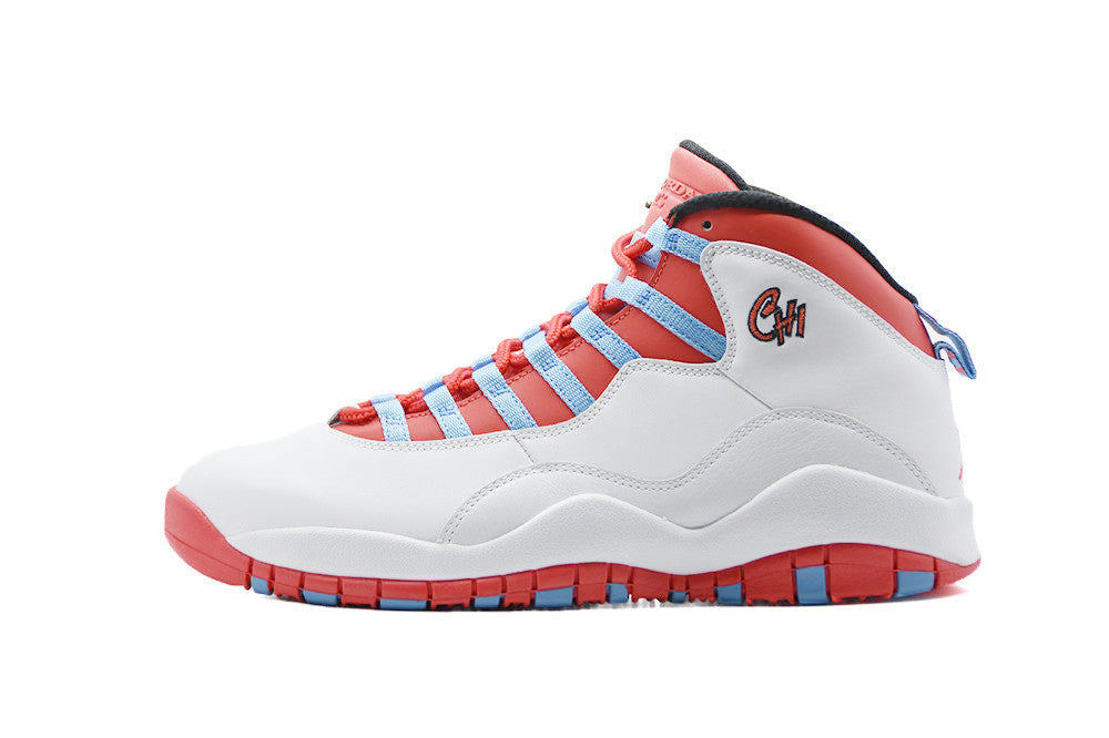 "Air Jordan 10 Retro ""Chicago Flag"""