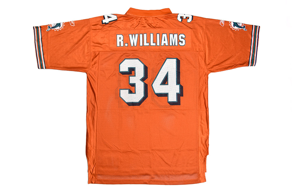 Reebok Miami Dolphins Ricky Williams Alternate Jersey