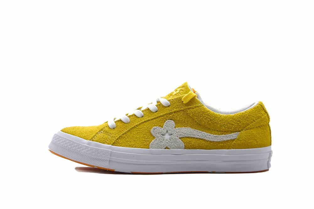 "Converse One Star x Tyler The Creator Golf Le Fleur Suede ""Solar Power"""