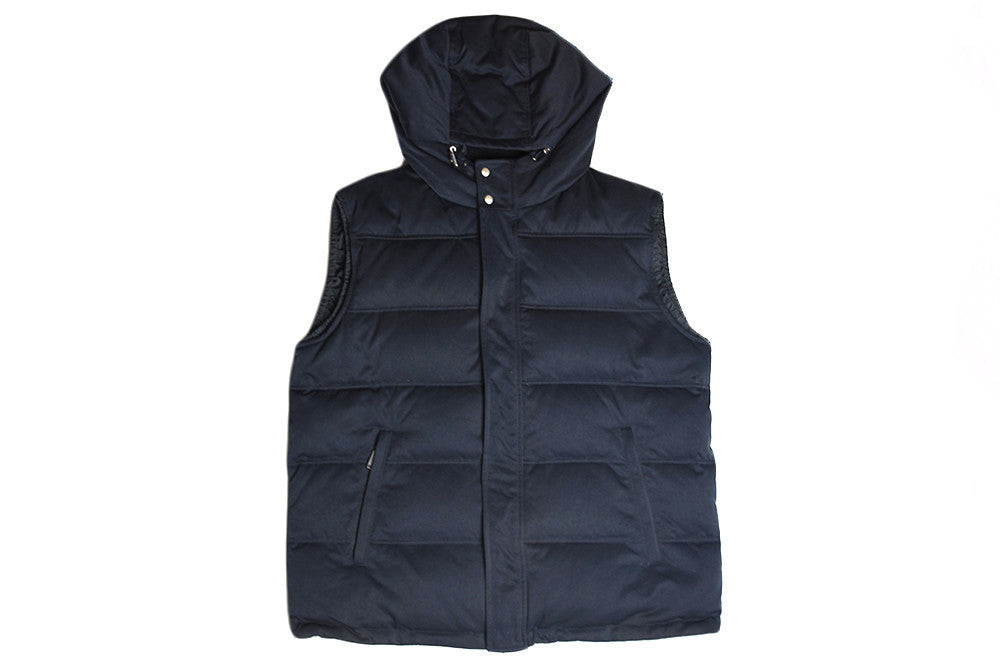 Gucci Hooded Down Vest