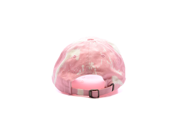 The High Rise Lit Bleached Dad Hat