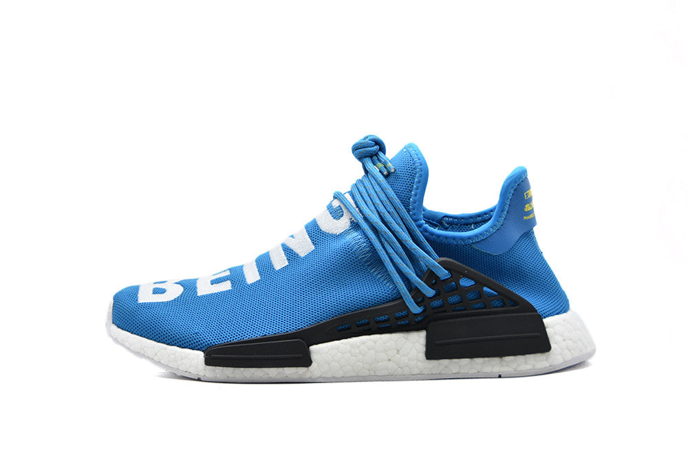 "Adidas x Pharrell Williams Human Race NMD ""Shale Blue"""