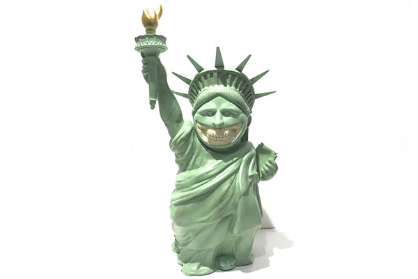 Lady Liberty Grin By Ron English x MindStyle