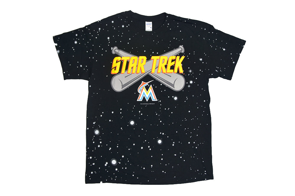 Miami Marlins Star Trek Tee (2016)