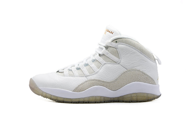 "Air Jordan 10 OVO ""White"""