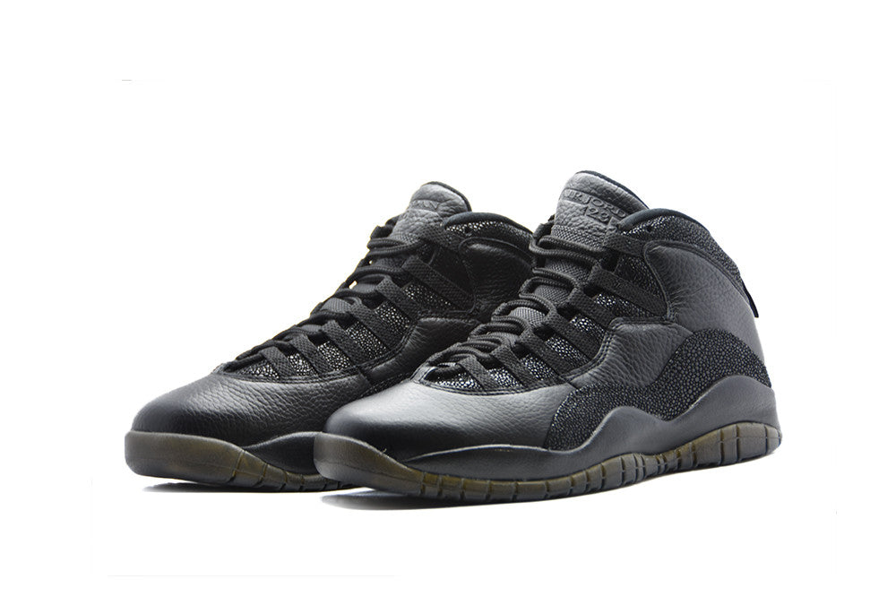 "Air Jordan 10 OVO ""Black"""