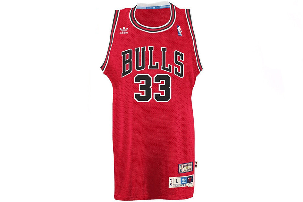Adidas Scottie Pippen Bulls Away Swingman Jersey