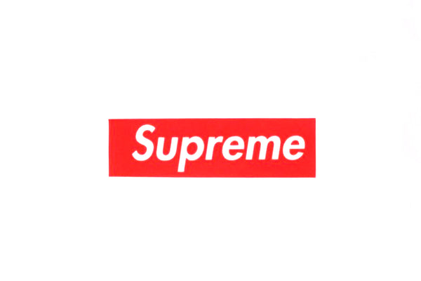 Supreme Felt Box Logo Sticker