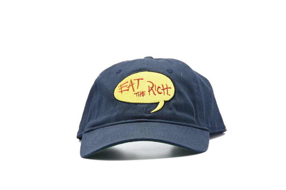 All City Art Wear Eat The Rich Dad Hat
