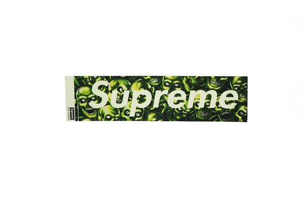 Supreme Skull Pile Box Logo Sticker