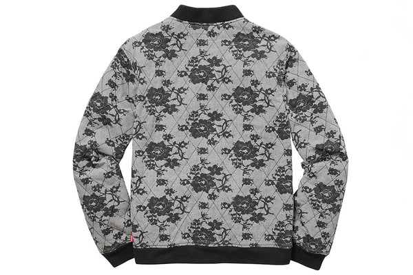 Supreme Lace Quilted Bomber Jacket