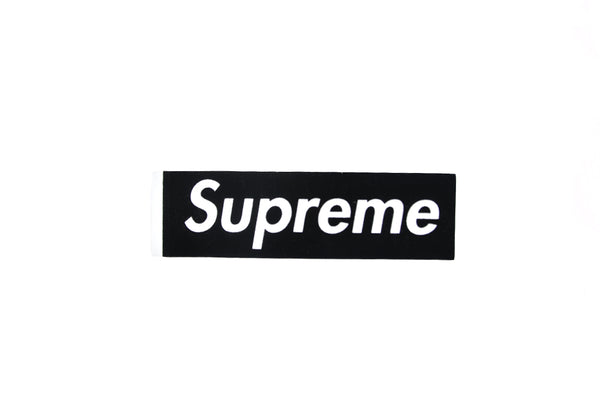 Supreme Box Logo Felt Sticker