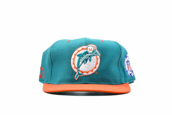 Vintage Miami Dolphins Fitted Cap