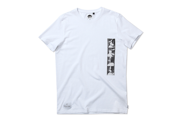 WESC x Warhol Strip Tee White