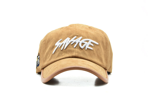 ACHILL3 APPAREL Savage Suede Dad Hat
