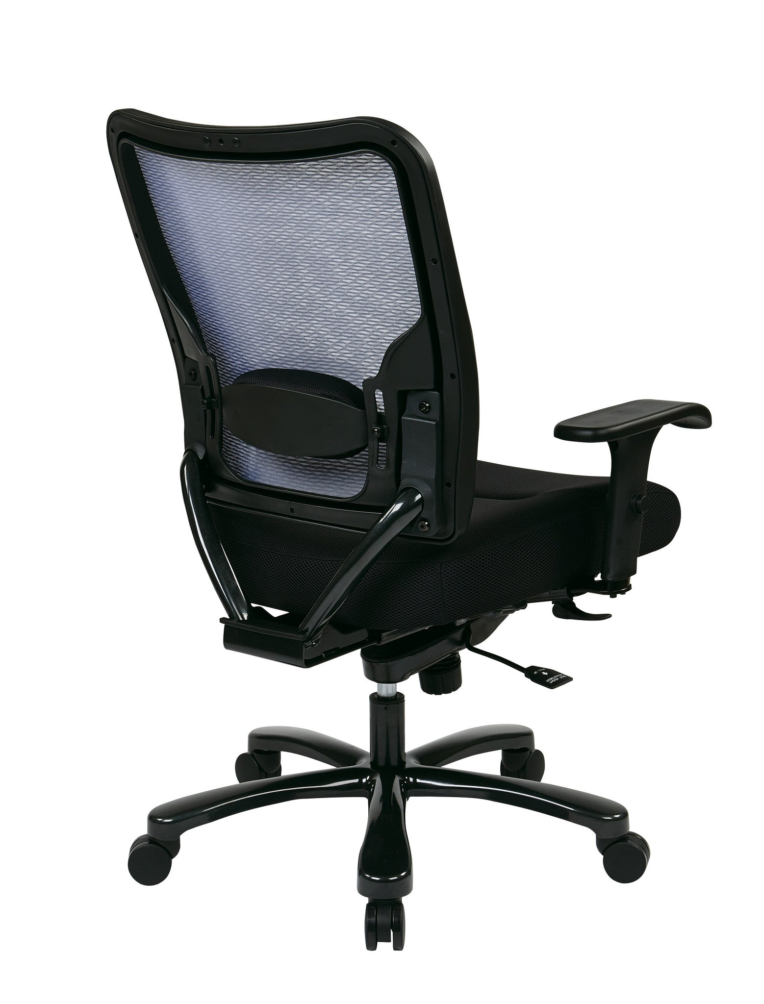 Office Star Space Seating Double AirGrid  Big   Tall Back and Black  Mesh Seat ErgonomicErgonomic Chairs for Standing Desks   Ergo Health Store. Office Star Ergonomic Chair. Home Design Ideas