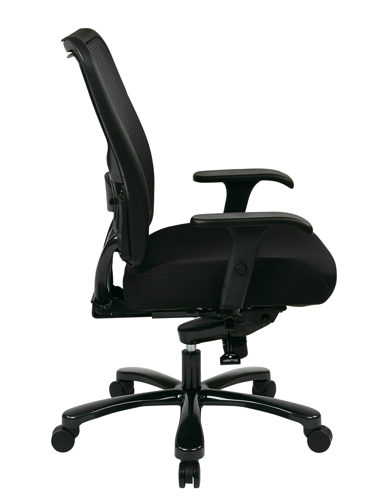 Office Star Space Seating Double AirGrid  Big   Tall Back and Black  Mesh Seat Ergonomic  Ergonomic Chairs for Standing Desks   Ergo Health Store. Office Star Ergonomic Chair. Home Design Ideas